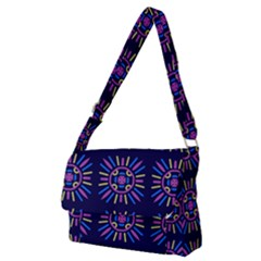 Papiamento Full Print Messenger Bag (m) by deformigo