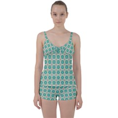 Adicora Tie Front Two Piece Tankini by deformigo