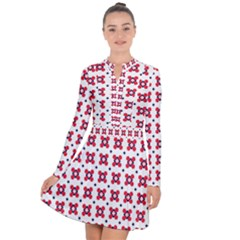 Farinoli Long Sleeve Panel Dress by deformigo