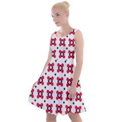 Farinoli Knee Length Skater Dress by deformigo
