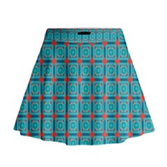Celerina Mini Flare Skirt by deformigo