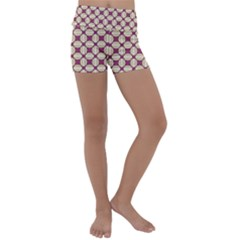 Montefrio Kids  Lightweight Velour Yoga Shorts by deformigo