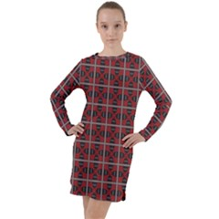 Noceta Long Sleeve Hoodie Dress by deformigo