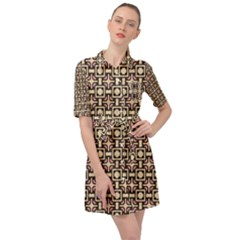 Lumnezia Belted Shirt Dress by deformigo
