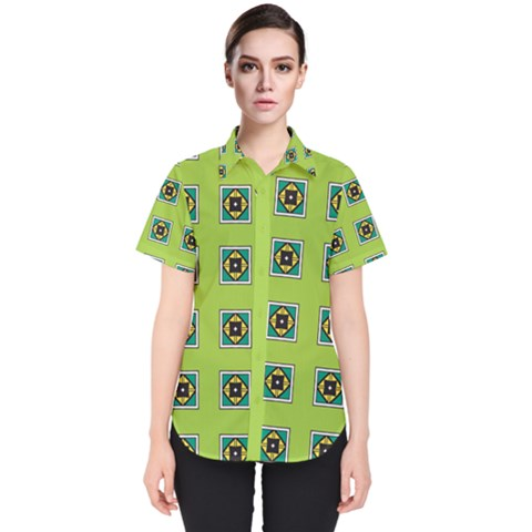 Lemona Women s Short Sleeve Shirt by deformigo