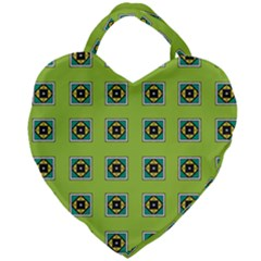 Lemona Giant Heart Shaped Tote by deformigo