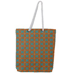 Envira Full Print Rope Handle Tote (large) by deformigo