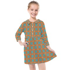 Envira Kids  Quarter Sleeve Shirt Dress by deformigo