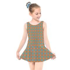 Envira Kids  Skater Dress Swimsuit by deformigo