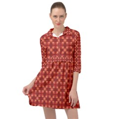Savaneti Mini Skater Shirt Dress by deformigo