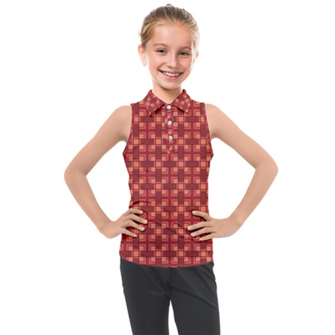 Savaneti Kids  Sleeveless Polo Tee by deformigo