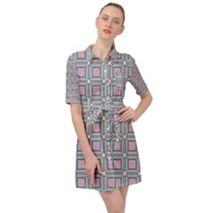 Arrifana Belted Shirt Dress by deformigo