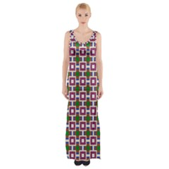Campitello Thigh Split Maxi Dress