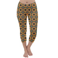 Banyan Capri Winter Leggings  by deformigo