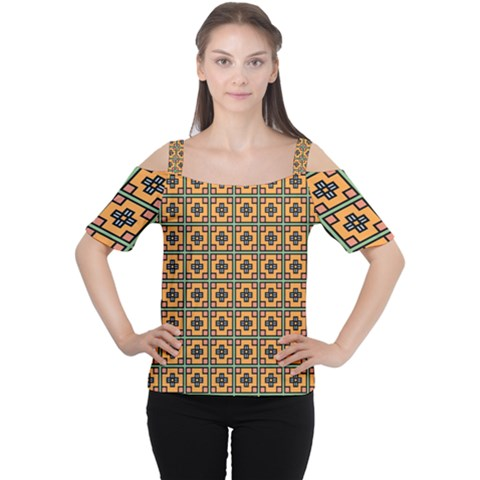 Banyan Cutout Shoulder Tee by deformigo