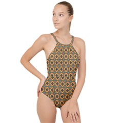Banyan High Neck One Piece Swimsuit