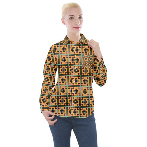 Banyan Women s Long Sleeve Pocket Shirt by deformigo