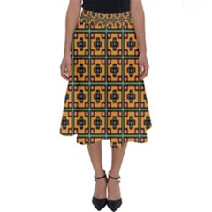 Banyan Perfect Length Midi Skirt by deformigo