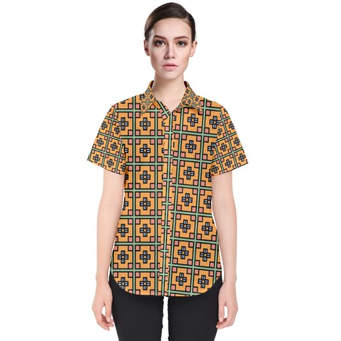 Banyan Women s Short Sleeve Shirt by deformigo