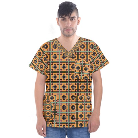 Banyan Men s V Neck Scrub Top by deformigo