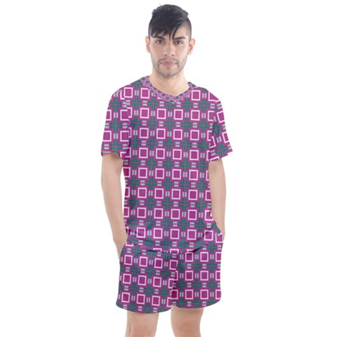 Elista Men s Mesh Tee And Shorts Set by deformigo