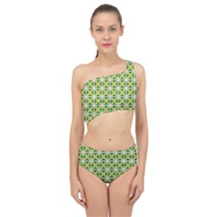 Thrillium Spliced Up Two Piece Swimsuit by deformigo