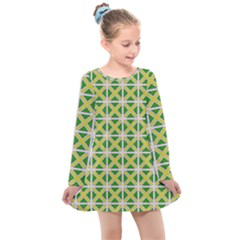 Thrillium Kids  Long Sleeve Dress by deformigo