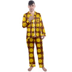Clivius Men s Satin Pajamas Long Pants Set by deformigo