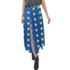 Noreia Velour Split Maxi Skirt by deformigo