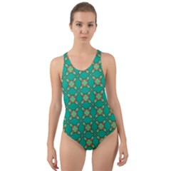 Callanish Cut-out Back One Piece Swimsuit