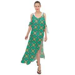 Callanish Maxi Chiffon Cover Up Dress