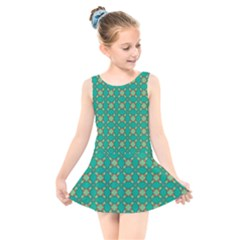 Callanish Kids  Skater Dress Swimsuit by deformigo