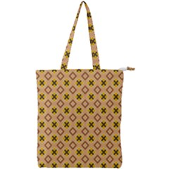 Virginia Double Zip Up Tote Bag by deformigo