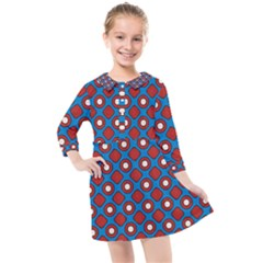 Ladysmith Kids  Quarter Sleeve Shirt Dress by deformigo