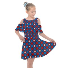 Ladysmith Kids  Shoulder Cutout Chiffon Dress by deformigo