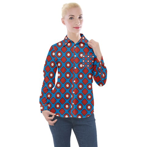 Ladysmith Women s Long Sleeve Pocket Shirt by deformigo