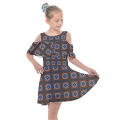 Cyprid Kids  Shoulder Cutout Chiffon Dress by deformigo