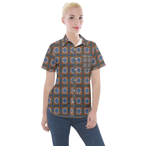 Cyprid Women s Short Sleeve Pocket Shirt by deformigo