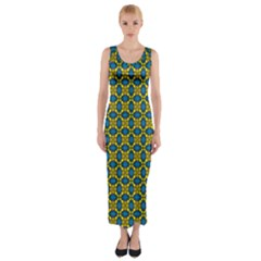 Gordium Fitted Maxi Dress by deformigo