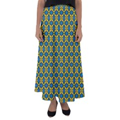 Gordium Flared Maxi Skirt by deformigo