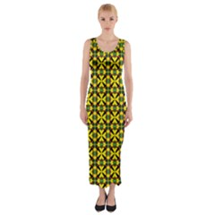 Bertha Fitted Maxi Dress by deformigo