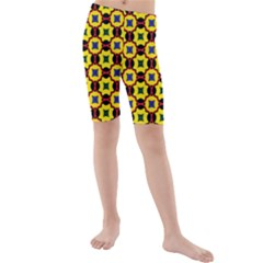 Eltopia Kids  Mid Length Swim Shorts by deformigo