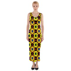 Eltopia Fitted Maxi Dress by deformigo