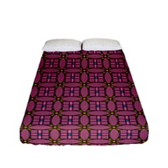 Wisteria Fitted Sheet (full/ Double Size) by deformigo