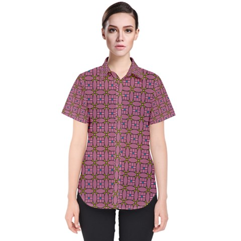 Wisteria Women s Short Sleeve Shirt by deformigo