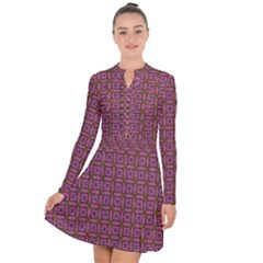 Wisteria Long Sleeve Panel Dress by deformigo