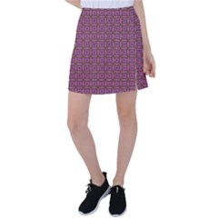 Wisteria Tennis Skirt by deformigo