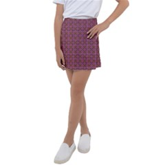Wisteria Kids  Tennis Skirt by deformigo