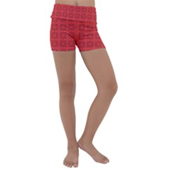 Flander Kids  Lightweight Velour Yoga Shorts by deformigo