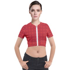 Flander Short Sleeve Cropped Jacket by deformigo